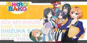 SHIROBAKO | Sub español | BD + VL 720p | Mega