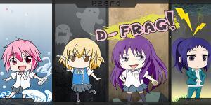 D-Frag! | Sub español | BD + VL 720p | Mega